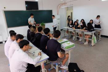 2018학년도 중국 산동성 위해경의외국어학교... 첨부이미지