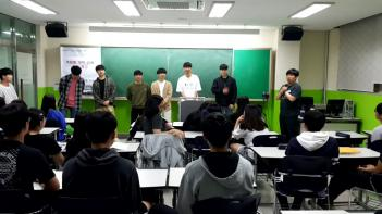 2018년 선배초청 진로탐색특강 첨부이미지