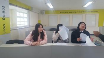 2019 제4회 영어토론대회 사진 첨부이미지