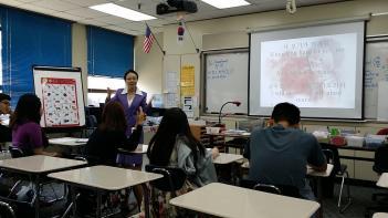 본교 국어 김한성 선생님 미국오산고등학교... 첨부이미지