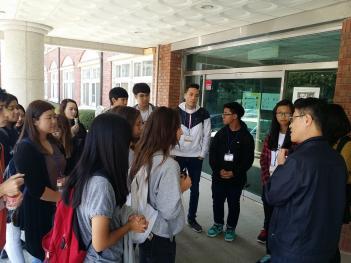 미국오산고등학교 학생 22명 본교 수업참관 첨부이미지