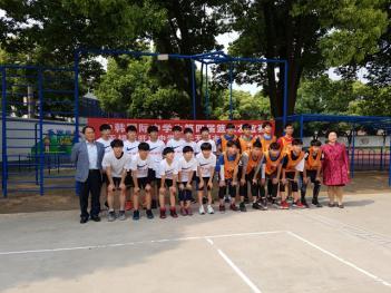 2018학년도 중국 무석시 왕장중학교 체육교... 첨부이미지