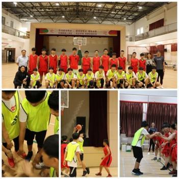 왕장중학교 농구경기 체육교류전 첨부이미지