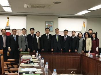 소주교육국 관계자 한국 서울시 교육청 방문... 첨부이미지