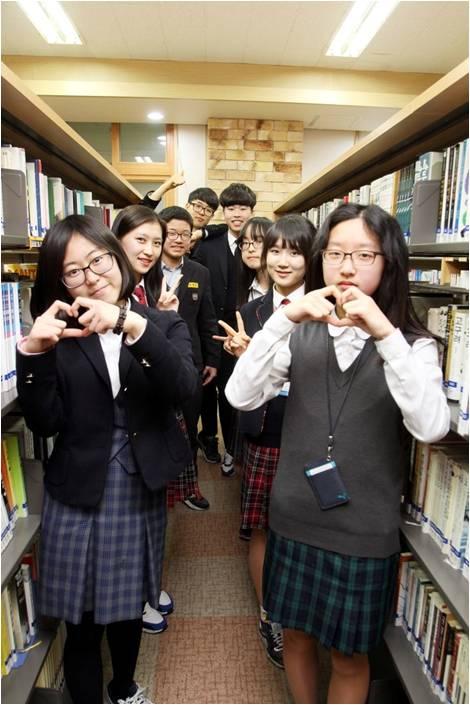 명덕외고 도서관