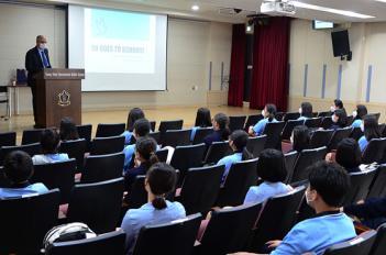 G.L.P 주한 불가리아 대사 학교 방문의 미리보기 이미지