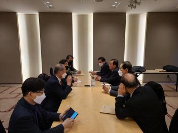 2월 3일 사학법인연합회 회장단 회의의 미리보기 이미지