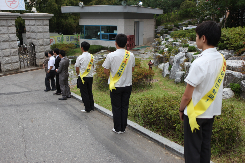 [0914]학교 폭력 방지 주간 선도부 활동 첨부이미지