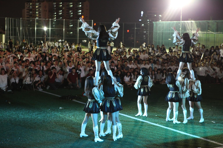 2009 보인 천년예술제 - 공연(일신여상 응원... 첨부이미지
