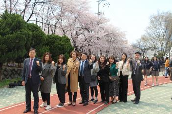 2019 경기외고 벚꽃축제 한마당 첨부이미지