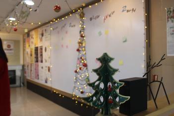 2019학년도 크리스마스 점등식 행사 첨부이미지