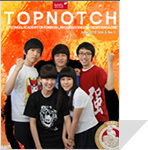 Top Notch(June,2010) 표지사진
