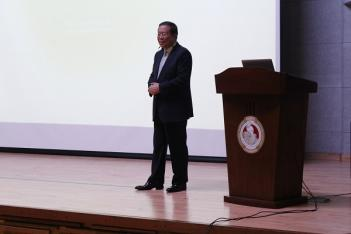 Special Lecture at Kaywon Art University...