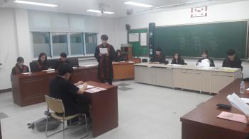 이매자치법정부 모의법정 개최  첨부이미지
