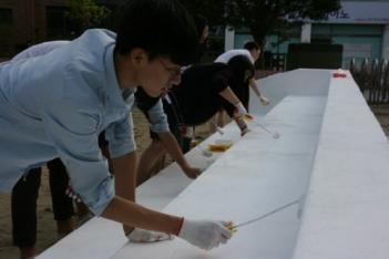 2016 코코봉사단 벽화그리기 봉사활동 첨부이미지