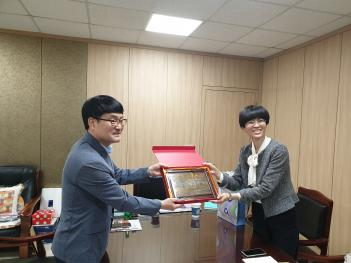 중국 北京대학교 입학처 관계자 본교내방 및... 첨부이미지