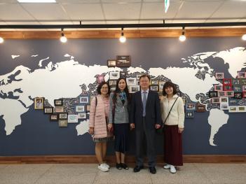 베트남 Yen Hoa school, 본교 방문 첨부이미지