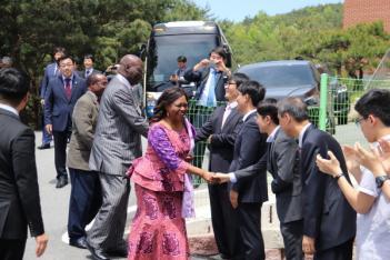 11개국 CLF 종교지도자(잠비아 종교부장관)... 첨부이미지