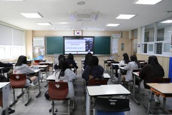 2021학년도 외대부속고등학교 모교방문의날 행사의 미리보기 이미지